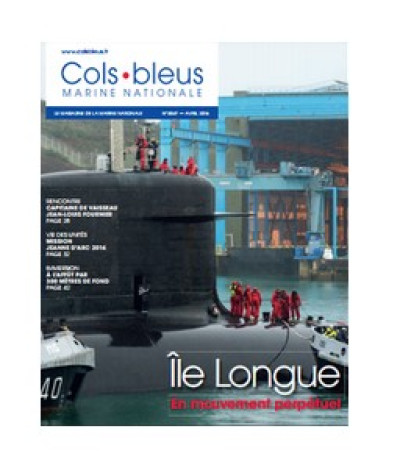 OFFICIEL : Parution du n°3047 de Cols Bleus (magazine de la Marine nationale).