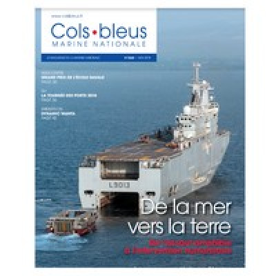 OFFICIEL : Parution du n°3068 de Cols Bleus (magazine de la Marine nationale).