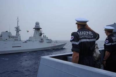 RELATIONS INTERNATIONALES: Tensions navales en Méditerranée orientale