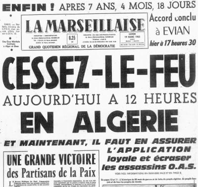 HISTOIRE : 19 mars 1962 : Des historiens rappellent la dramatique réalité Ob_a73b56_lamarseillaise-19mars1962_96183f57de895819317053c13c91d86c