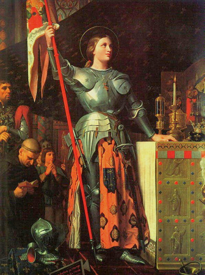 HOMMAGE : A Jeanne d'Arc