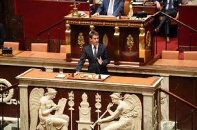 DISCOURS du Premier ministre, prononcé le 19 octobre 2016, à l'Assemblée Nationale : « Unis derrière nos armées ».