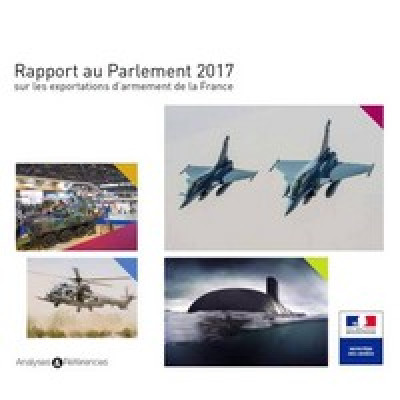 OFFICIEL : Publication du rapport au Parlement 2017 sur les exportations d'armement.