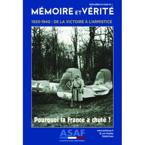 Hors série n°9 -1920 -1940 de la victoire à l'armistice.