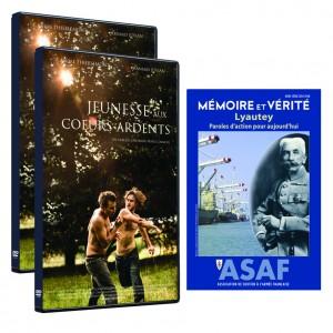 """Film """"Jeunesse aux cœurs ardents"""" de Cheyenne CARRON - Offre : 2 DVD + hors série """"Lyautey"""""""