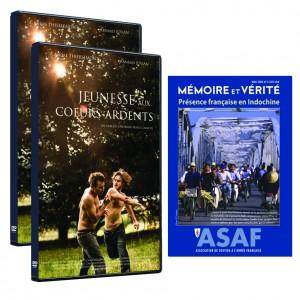"""Film """"Jeunesse aux cœurs ardents"""" de Cheyenne CARRON - Offre : 2 DVD + hors-série """"Indochine"""""""