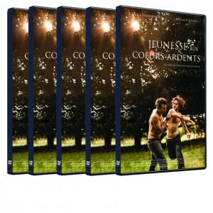 """Film """"Jeunesse aux cœurs ardents"""" de Cheyenne CARRON - Offre : 5 DVD"""
