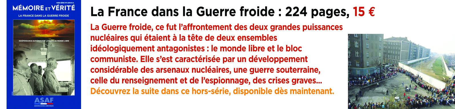 HS 9 bandeau La France dans la Guerre froide