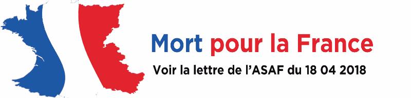 Bandeau Mort pour La France