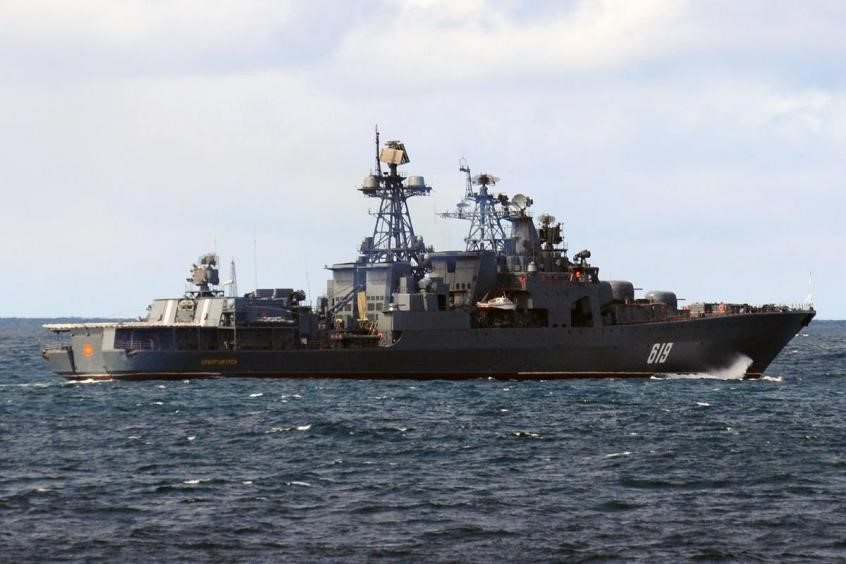 destroyer severomorsk ministere russe defense