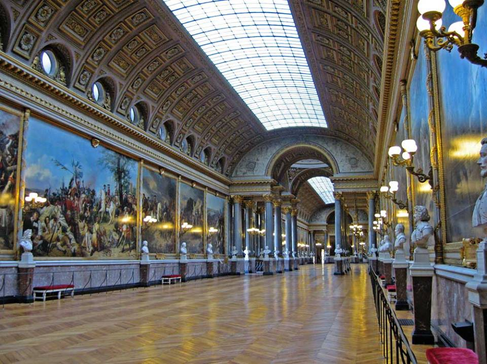 galerie chateau versailles