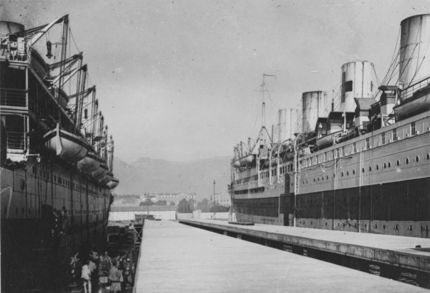navires hopitaux