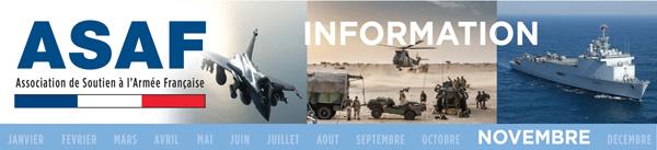 Lettre d'information ASAF novembre 2016 Bandeau_Novembre