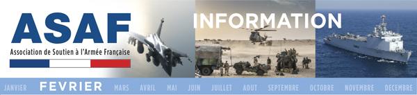 Projet de loi de programmation militaire :  une annonce qui se veut rassurante - février 2018 Information_Fevrier
