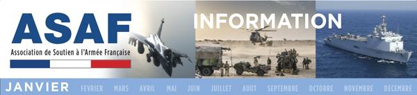 ASAF - LETRE INFORMATION JANVIER 2017 Défense : l'heure des choix  Information_Janvier